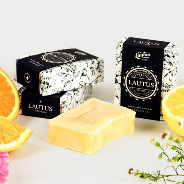 Citruskert parfüm krémszappan